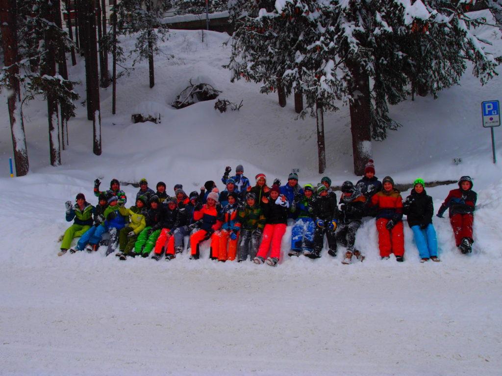 U13: ein tolles Wochenende im Schnee!