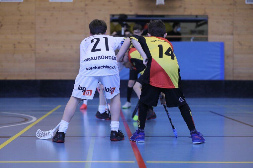Die Bündner U13 Auswahl bezwingt erstmals die U13 Bern!