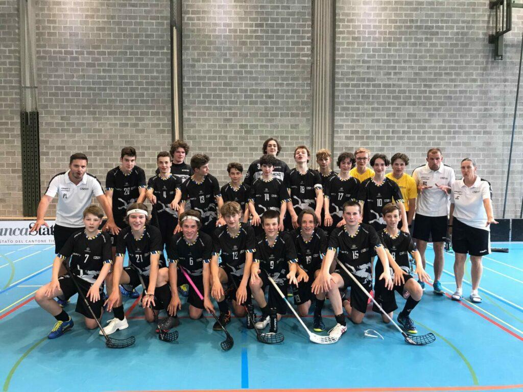 Die U15 qualifiziert sich für das Finalturnier in Meilen!!